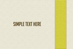 Disposition de conception blanche abstraite d'album à or de fond Photo libre de droits