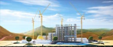 Disposition de construction Photos libres de droits