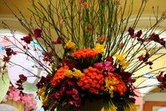 Disposition de fleurs Photos libres de droits