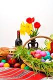 Disposition de Pâques Photos stock
