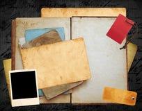 Disposition de vieux livre Image stock