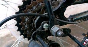 Disposition de vitesse de vélo image stock