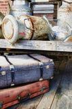 Disposition des objets antiques - HDR Photo libre de droits