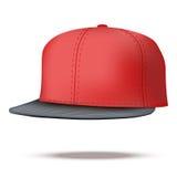 Disposition du chapeau masculin de coup sec et dur de couleur Images libres de droits