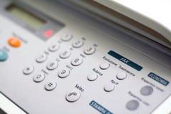 Disposition italienne de fax Image libre de droits