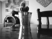 Disposition noire et blanche de vintage Image stock