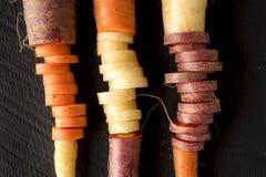 Disposition organique de carotte d'héritage photo libre de droits