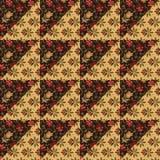 Disposition pour une conception colorée d'édredon Image libre de droits