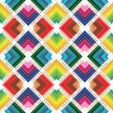 Disposition sans couture de crayons colorés photographie stock libre de droits