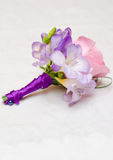 Dispositions de fleurs de mariage Images stock