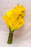 Dispositions de fleurs de mariage Photos stock