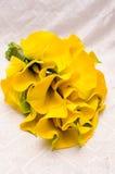 Dispositions de fleurs de mariage Image libre de droits