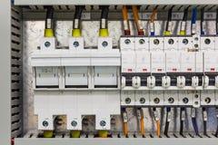 Dispositivi di corrente elettrica fotografie stock libere da diritti