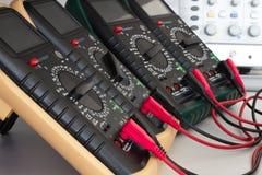 Dispositivi di misurazione pronti per la misura Fotografia Stock Libera da Diritti