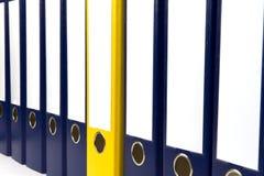 Dispositivi di piegatura in bianco Immagine Stock