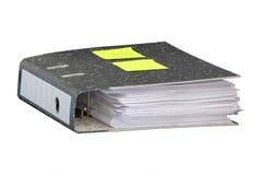 Dispositivi di piegatura con i documenti Immagini Stock Libere da Diritti