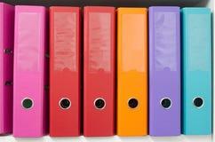 Dispositivi di piegatura dell'ufficio Fotografie Stock Libere da Diritti