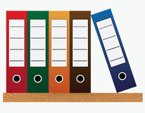Dispositivi di piegatura dell'ufficio. Immagine Stock Libera da Diritti