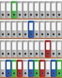 Dispositivi di piegatura dell'ufficio Fotografia Stock Libera da Diritti