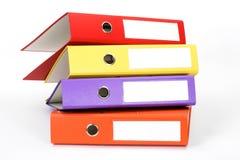 Dispositivi di piegatura di archivio di colore Fotografie Stock Libere da Diritti