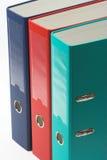 Dispositivi di piegatura di archivio di colore Immagine Stock