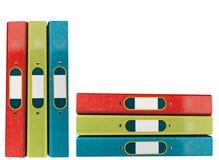 Dispositivi di piegatura per i documenti Fotografie Stock