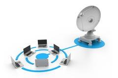 Dispositivi di rete Immagine Stock
