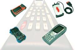 Dispositivi diagnostici dell'automobile Fotografie Stock Libere da Diritti
