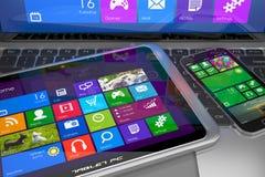 Dispositivi mobili Immagini Stock