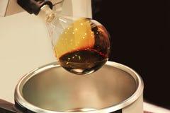 Dispositivi nei laboratori di chimica Fotografia Stock