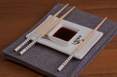 Dispositivi per cucina giapponese Immagini Stock Libere da Diritti