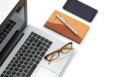 Dispositivi per l'affare e l'istruzione Fotografie Stock