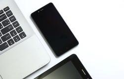 Dispositivi per l'affare e l'istruzione Fotografie Stock Libere da Diritti