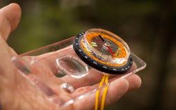 Dispositivo útil na palma de sua mão Imagem de Stock