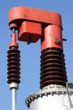 Dispositivo affinchè trasformatore elettrico ad alta tensione varino l'uscita Fotografie Stock Libere da Diritti