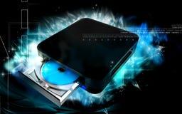 Dispositivo azul del rayo Imágenes de archivo libres de regalías