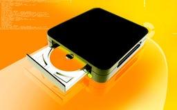 Dispositivo azul del rayo Foto de archivo libre de regalías