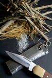 Dispositivo d'avviamento di fuoco del magnesio fotografia stock