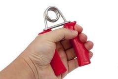 Dispositivo da força do dedo fotografia de stock