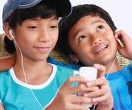 Dispositivo da música fotos de stock