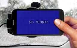 Dispositivo da navegação do carro Foto de Stock Royalty Free