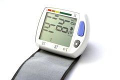 Dispositivo da pressão sanguínea Imagens de Stock Royalty Free