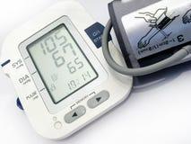 Dispositivo da pressão sanguínea Fotografia de Stock