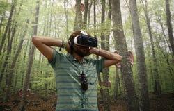Dispositivo da realidade virtual Imagens de Stock Royalty Free