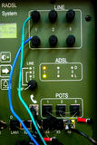 Dispositivo de comunicación militar Imagen de archivo