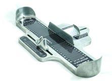 Dispositivo de la medida de la talla del pie Imagenes de archivo