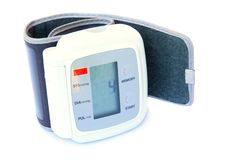 Dispositivo de la presión arterial Foto de archivo libre de regalías