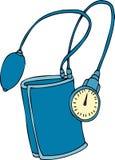 Dispositivo de la presión arterial Imagen de archivo