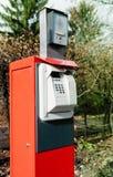 Dispositivo de la puerta del intercomunicador de la barrera del auge con las manos libres Foto de archivo
