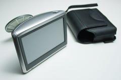 Dispositivo de los Gps con la taza de la succión Imagen de archivo libre de regalías